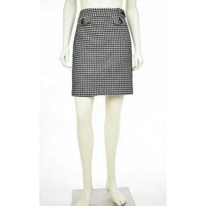 Ann Taylor Wool Blend Pencil Skirt Size 4